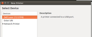 select printer