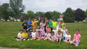 Mrs. Binkley and the Kids