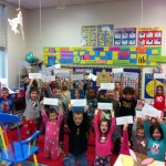 Everyone received an ice-cold letter from the North Pole!