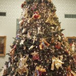 Angel Christmas Tree in The Fine Arts Museum Saint Petersburg, Florida