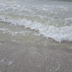 Madeira Beach Florida water on shore