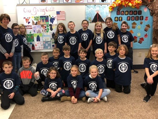 Thanksgiving and Blue Ribbon Class Picture on Wed. Nov. 27, 2019.