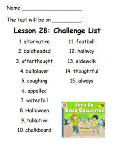 Lesson 28 Challenge