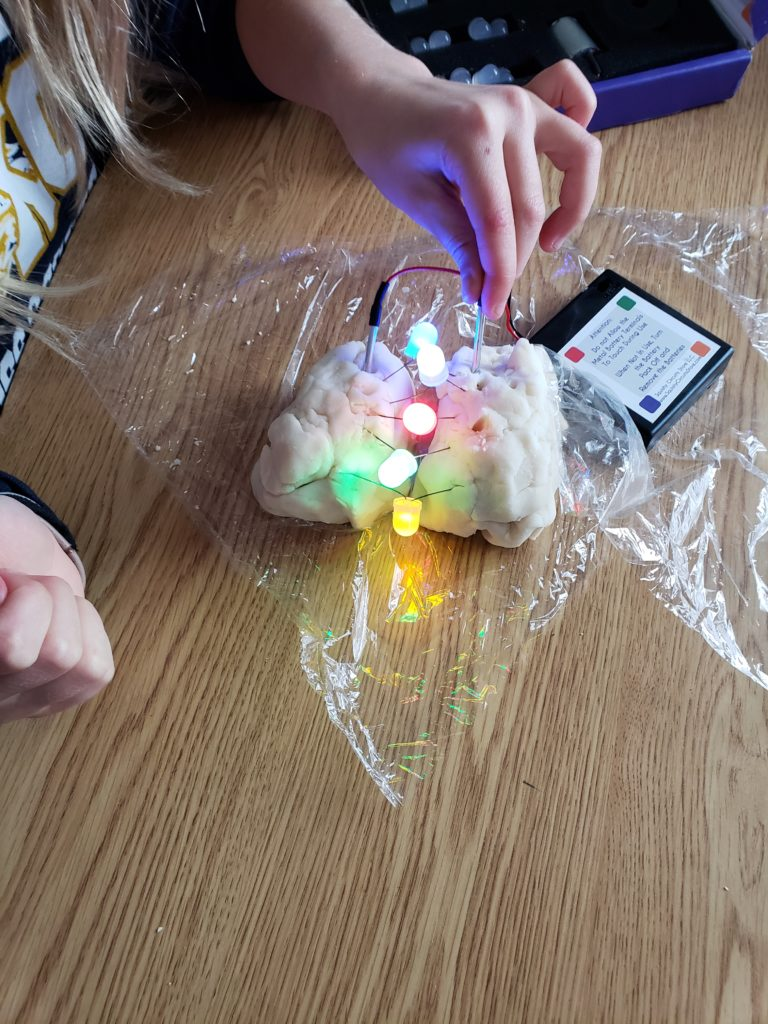 Circuits with Conductive Dough