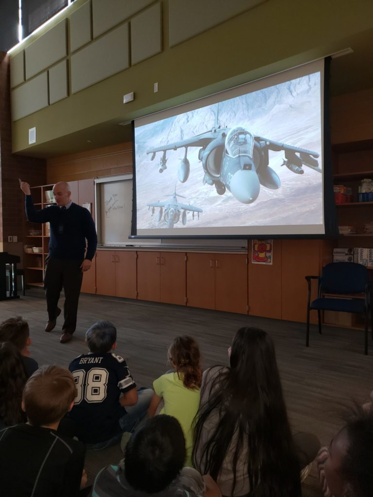 Mr. Howe USMC Presentation