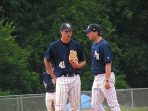 Coach Stuart chats with Jared Yecker