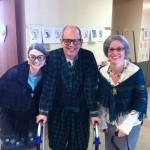 Mrs. Bittenbender, Mr. Heiney, and MIss Szentesy
